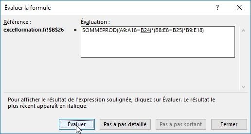 Excel formation - 027 Evaluer une formule complexe - 03