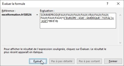 Excel formation - 027 Evaluer une formule complexe - 06