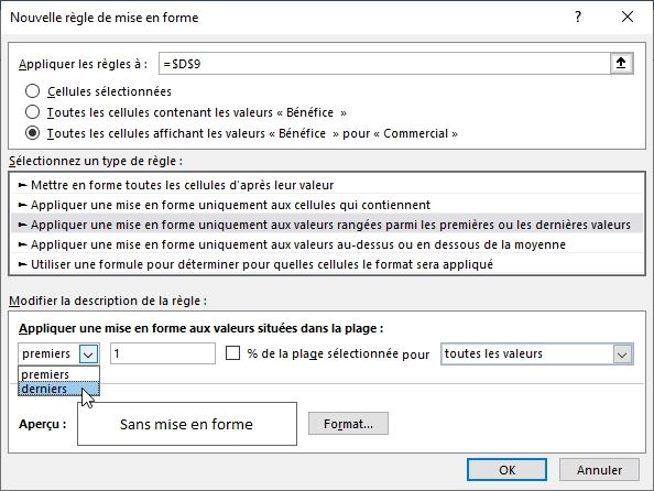 Excel formation - TCD17 - mise en forme conditionnelle - 07
