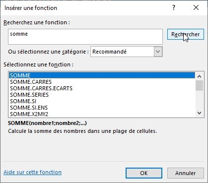 Excel formation - assistant création formules - 03