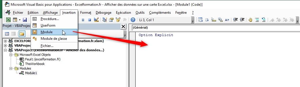 Excel formation - Supprimer les accents - 02