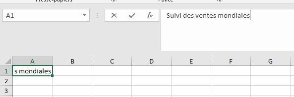 Apprendre à utiliser Excel pour les débutants - Saisir des données dans Excel (Textes, nombres ...