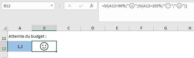 comment ins u00e9rer des  u00e9mojis avec la formule unicar   d